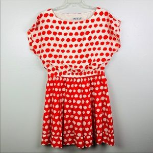 Eliza J | Polka Dot Plus Size Flare Dress 14